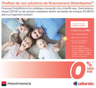 Atlantissimo Radiateur et chauffe-eau