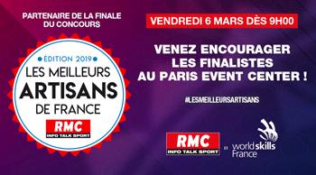 Assistez à la finale du concours des meilleurs artisans de France !