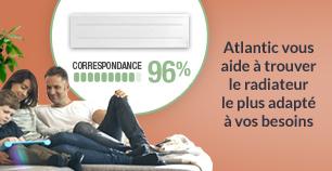 Trouvez votre radiateur électrique avec le nouveau guide de choix d'Atlantic !