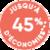 Jusqu'à 45% d'économies*** -***Par rapport à un convecteur de 1ère génération. Pour en savoir plus sur les économies d'énergie, cliquez ici