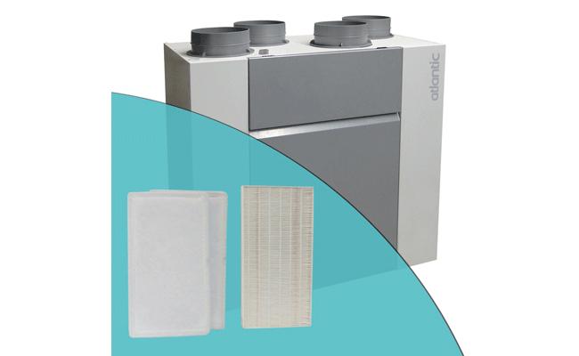 Filtres G4 et F7 pour VMC OPTYMOCOSY HR