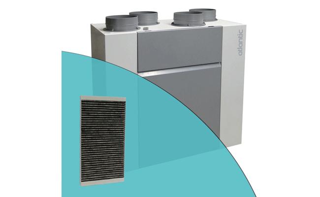 Filtres F7 anti-odeur pour VMC OPTYMOCOSY HR